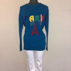 """Vintage Nurum Triko Knit """"Paris"""" Sweater"""